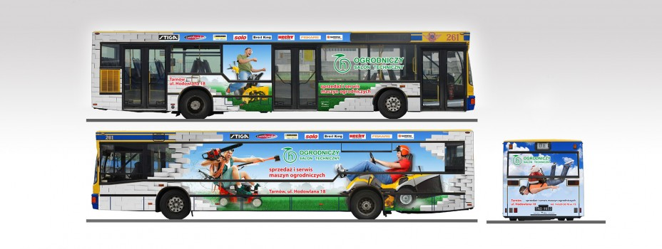 reklama autobusy